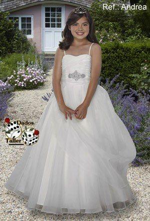 vestidos de primera comunion ninas gorditas