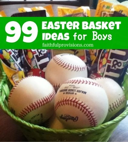 99 easter basket ideas for boys what to put in boys easter 99 easter basket ideas for boys what to put in boys easter baskets ideas are broken down into age groups from toddler to college age negle Gallery