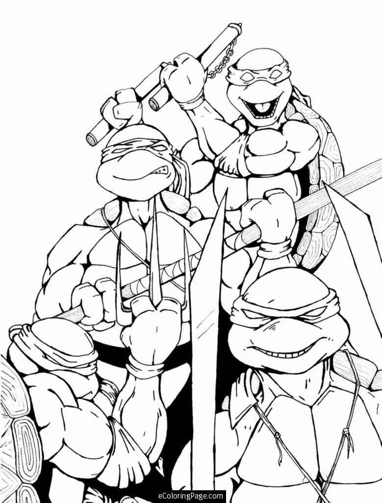 Coloring online ninja - Tmnt Coloring Pages Printable Teenage Mutant Ninja Turtles Coloring Page For Kids Printable Ninja