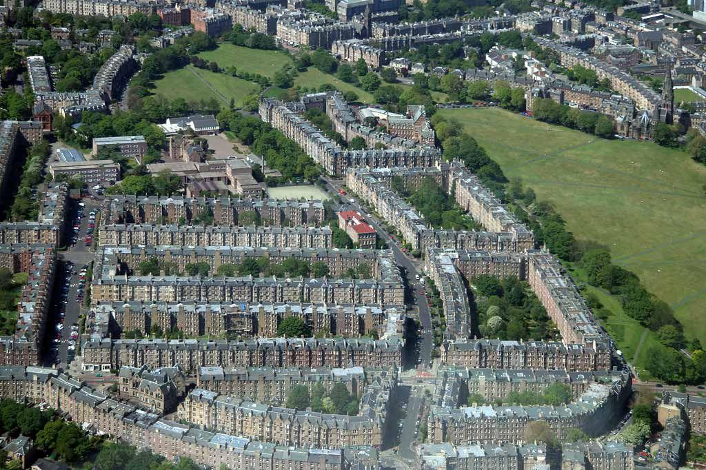Edinburgh suburbs