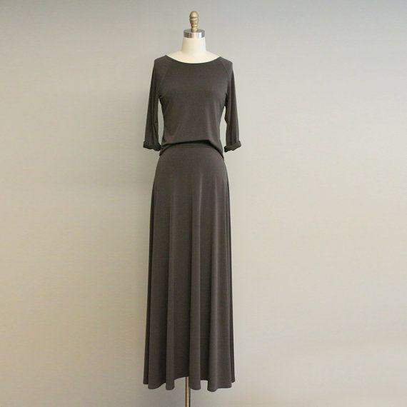 Maxi Rock Kleid von ErinAlexandraKlym auf Etsy, $95.00