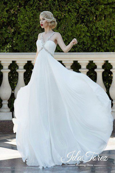 column types of wedding gowns