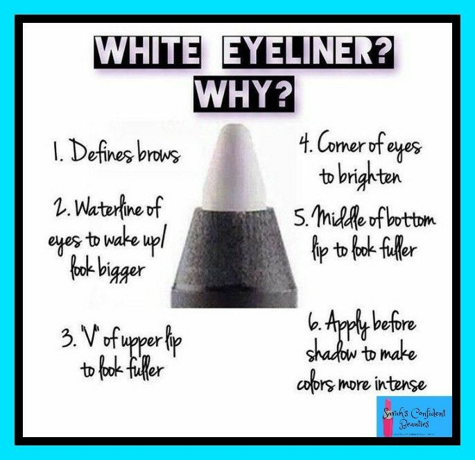 Makeup Tips: 6 reasons why white liner is amazing!