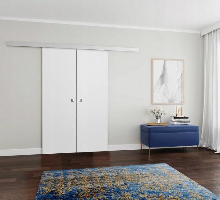 Drzwi Przesuwne Nascienne Limba Duo 140 Biale Home Decor Home Decor