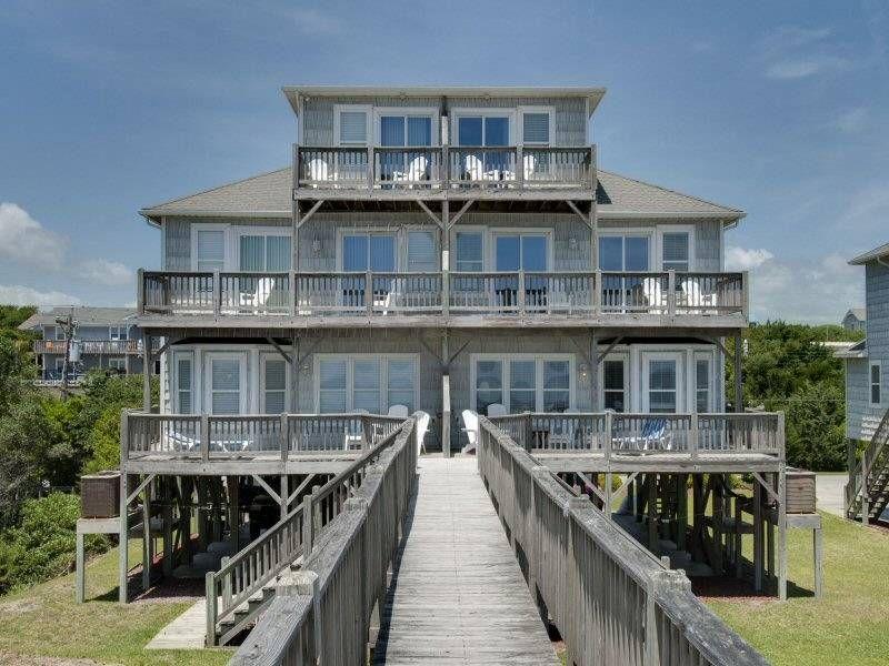 bella mar west emerald isle duplex for rent has 4 bedrooms and a rh pinterest com