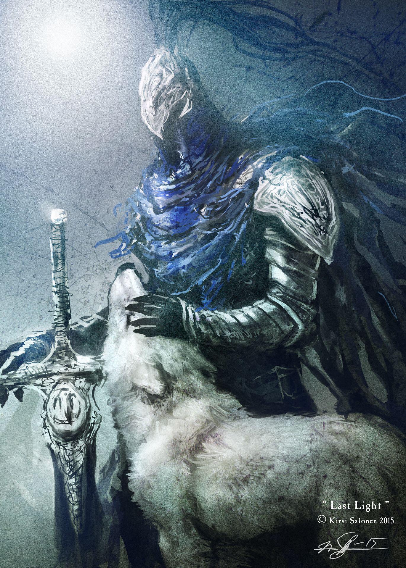 Last Light With Images Dark Souls Art Dark Souls Artwork