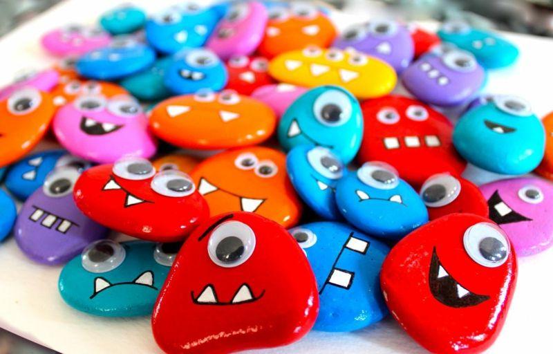 Triff dein neues Hobby: bemalte Steine! - Haus Dekoration Mehr #bemaltesteine