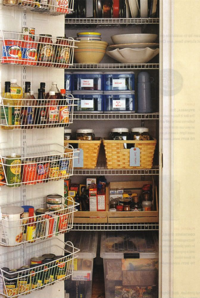 Tips For An Organized Home Pantry Storage Organization And