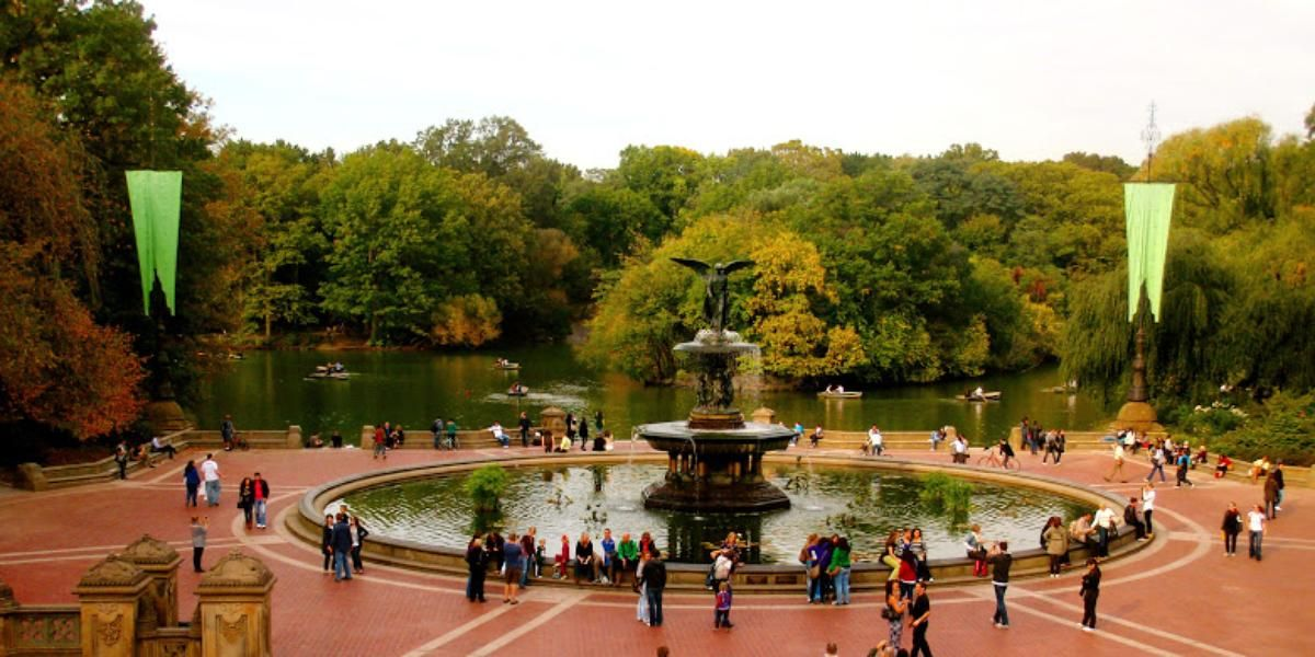 Central Park Bethesda Fountain Weddings