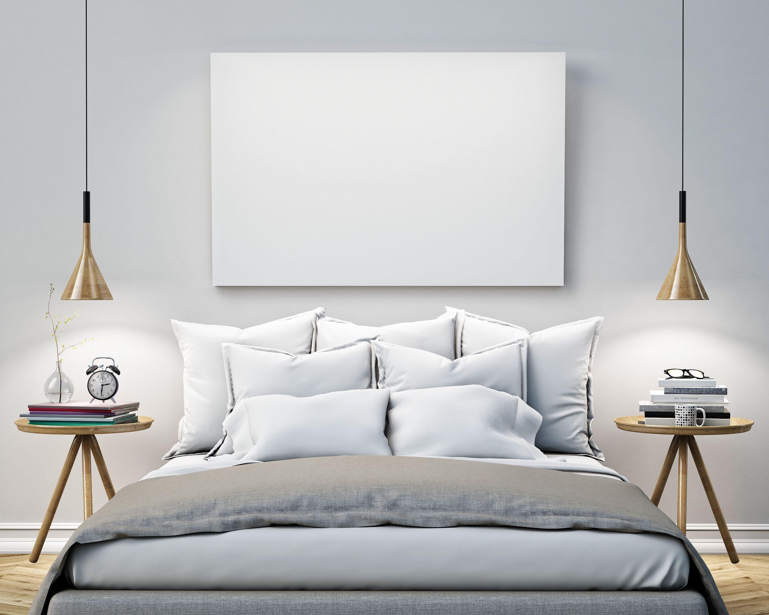designer pendelleuchten sind die neuen nachttischlampen im schlafzimmer httpstrendomatcom - Nachttischlampen