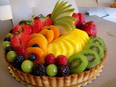 Beautiful Fruit Tart Arreglos De Frutas Pastel De Tortilla Frutas