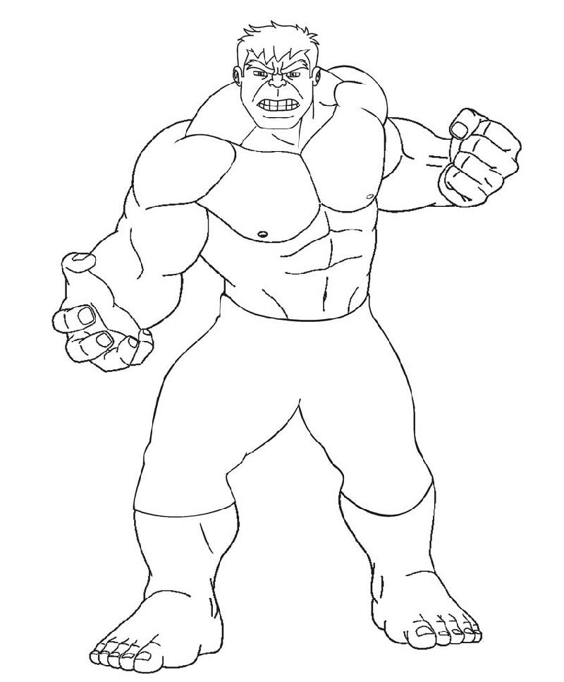 Hulk Coloring Pages For Exercise Avengers Coloring Pages Hulk Coloring Pages Coloring Pages