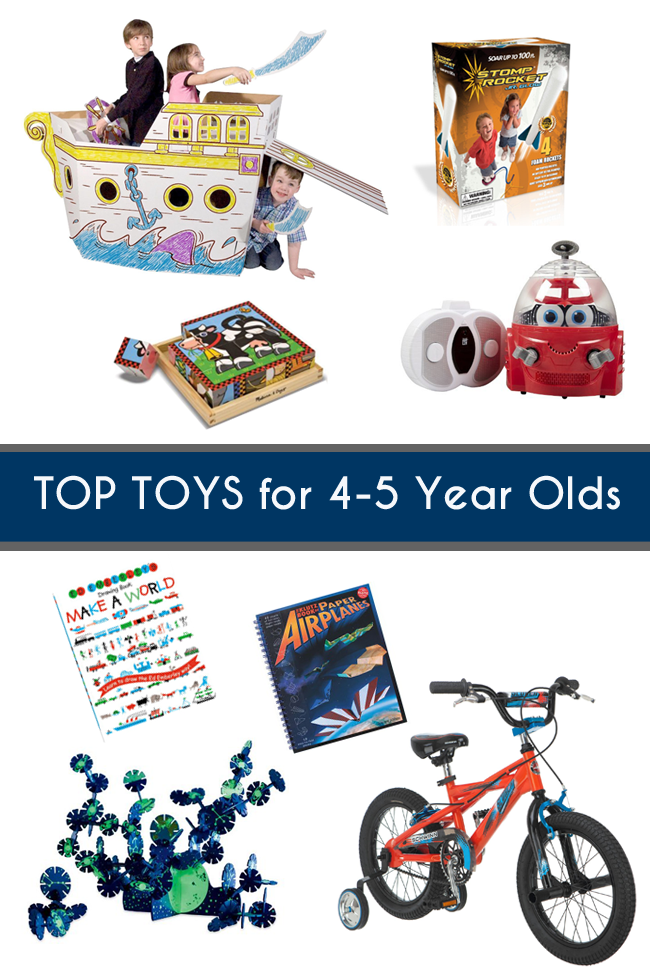 Gift Guide Top Toys for 45 Year Olds 5 year old