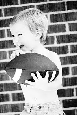 Bo- I distracted him with a football and it made the best pics yet!