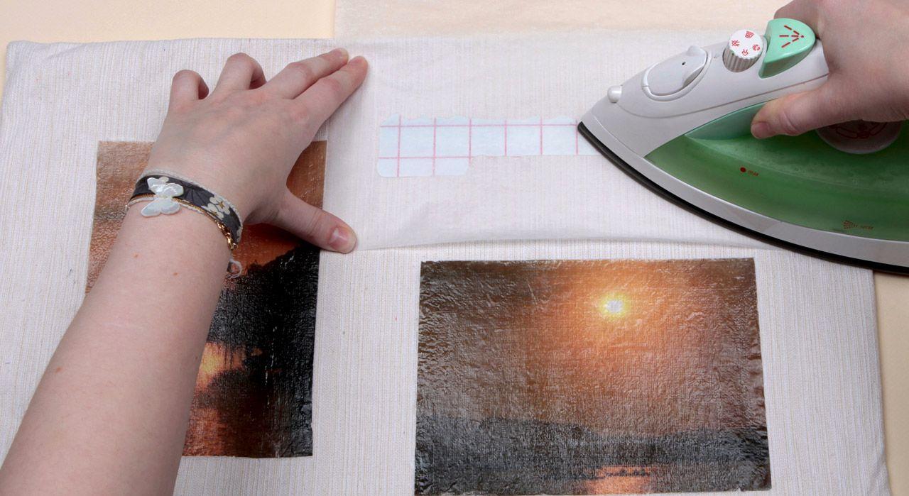 Transfert Photocopie Sur Bois technique de base en vidéo : le transfert à chaud