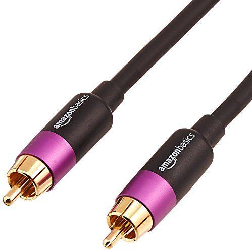 AmazonBasics Câble pour subwoofer - 15,3 m #AmazonBasics #Câble ...