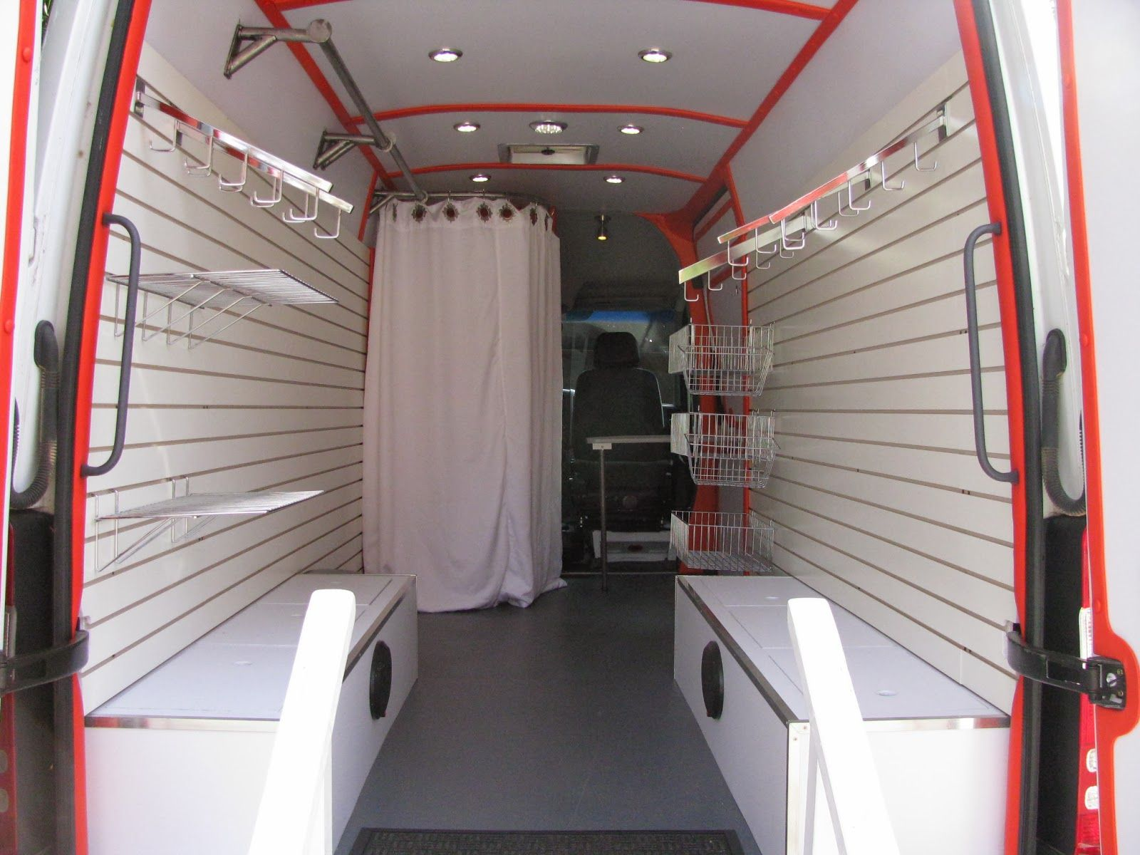 Enclosed Trailer Shelving >> mobile retail truck - Google Search | Business | Mobile ...