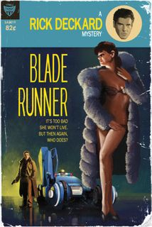 Blade Runner Pulp Cover