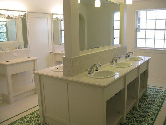 sorority bathroom - Google Search | KD House Look Book | Pinterest