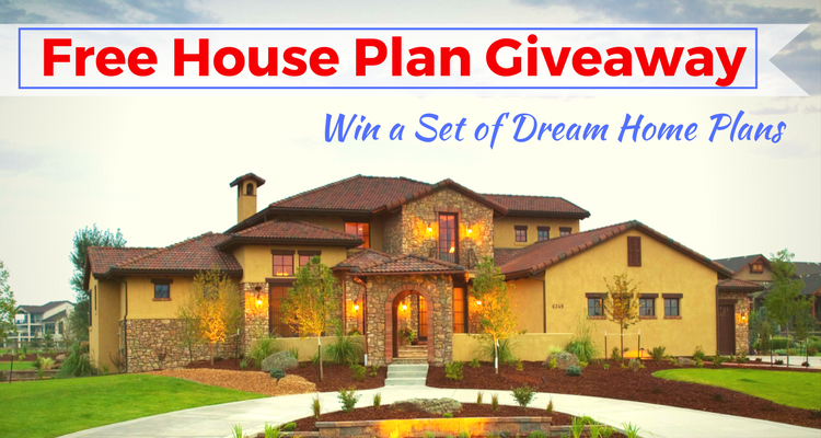 House Plan Giveaway Free House Plans House Plans Build Your Dream Home