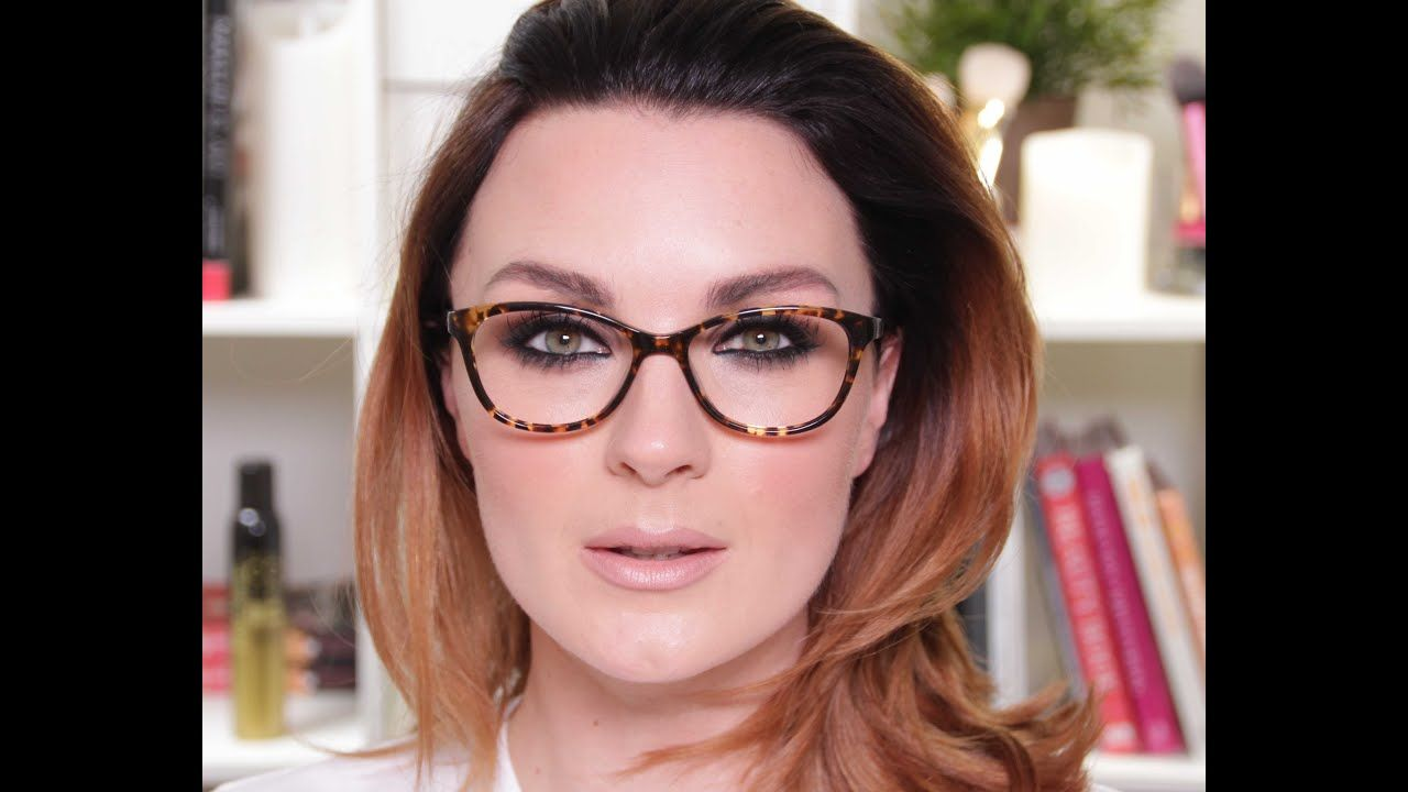 Make Up For Glasses Wearers Youtube Blue Eye Makeup Dramatic