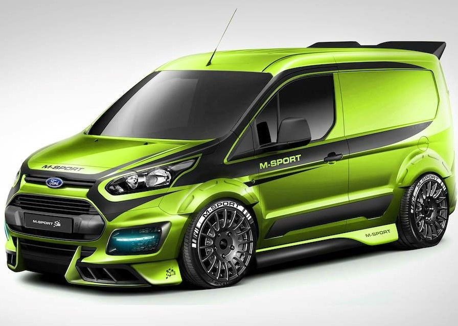 Details About Ford Transit Connect M Sport 120ps Rally