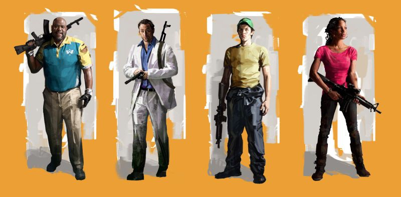 Left 4 Dead 2 S Concept Art Gamers