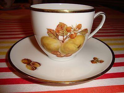Antique Hutschenreuther Hohenberg Cup u0026 Saucer Porcelain Olivia Fruit Design PE & Antique Hutschenreuther Hohenberg Cup u0026 Saucer Porcelain Olivia ...