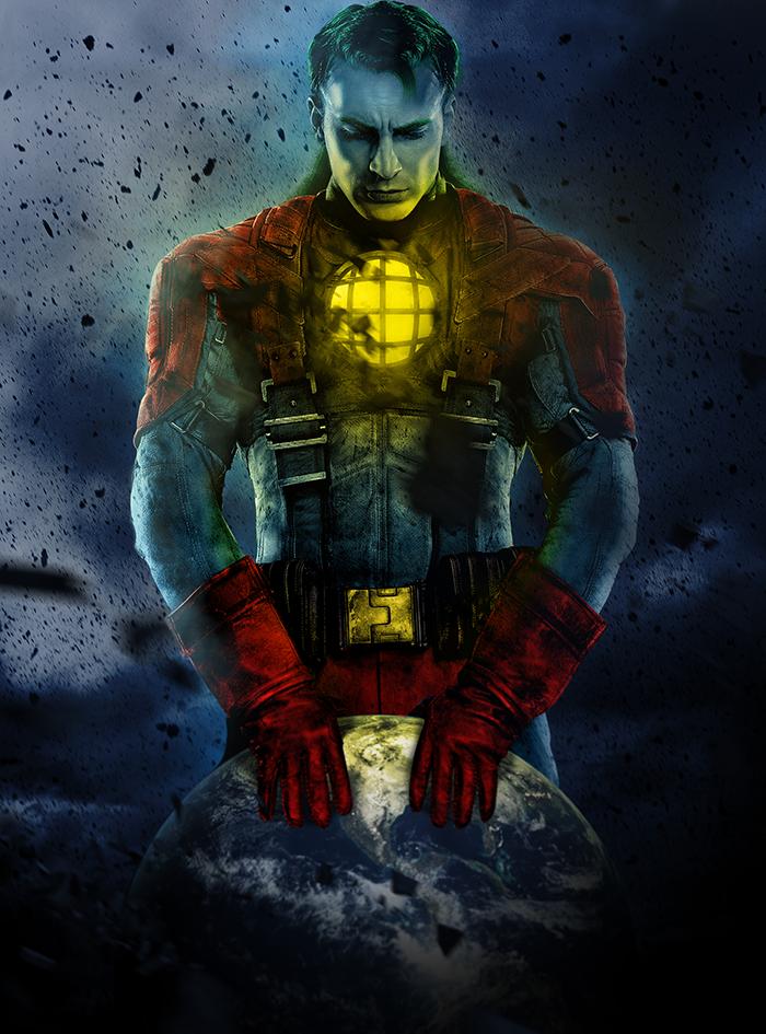 Captain America Digivolves To Captain Planet Marvel Comic Character Marvel Comic Universe Hero Movie
