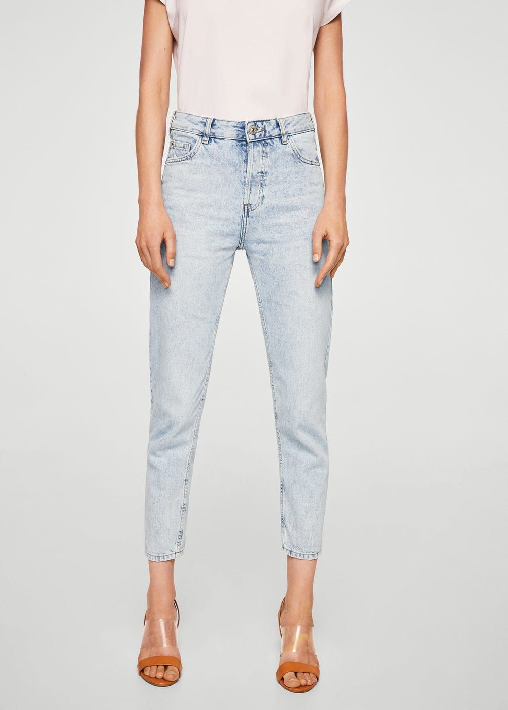 6502f15e3 Mom relaxed jeans - Women | want | Mango jeans, Jeans, Mom jeans
