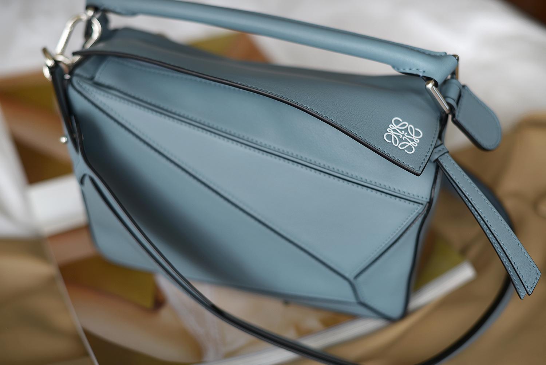 Puzzle Bag Sand/Mink Color - LOEWE