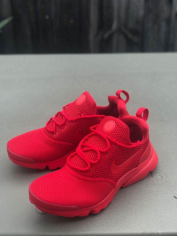 4f8f76db9f4b Nike Presto Fly University Red 913966-600 Size 6Y (eBay Link ...