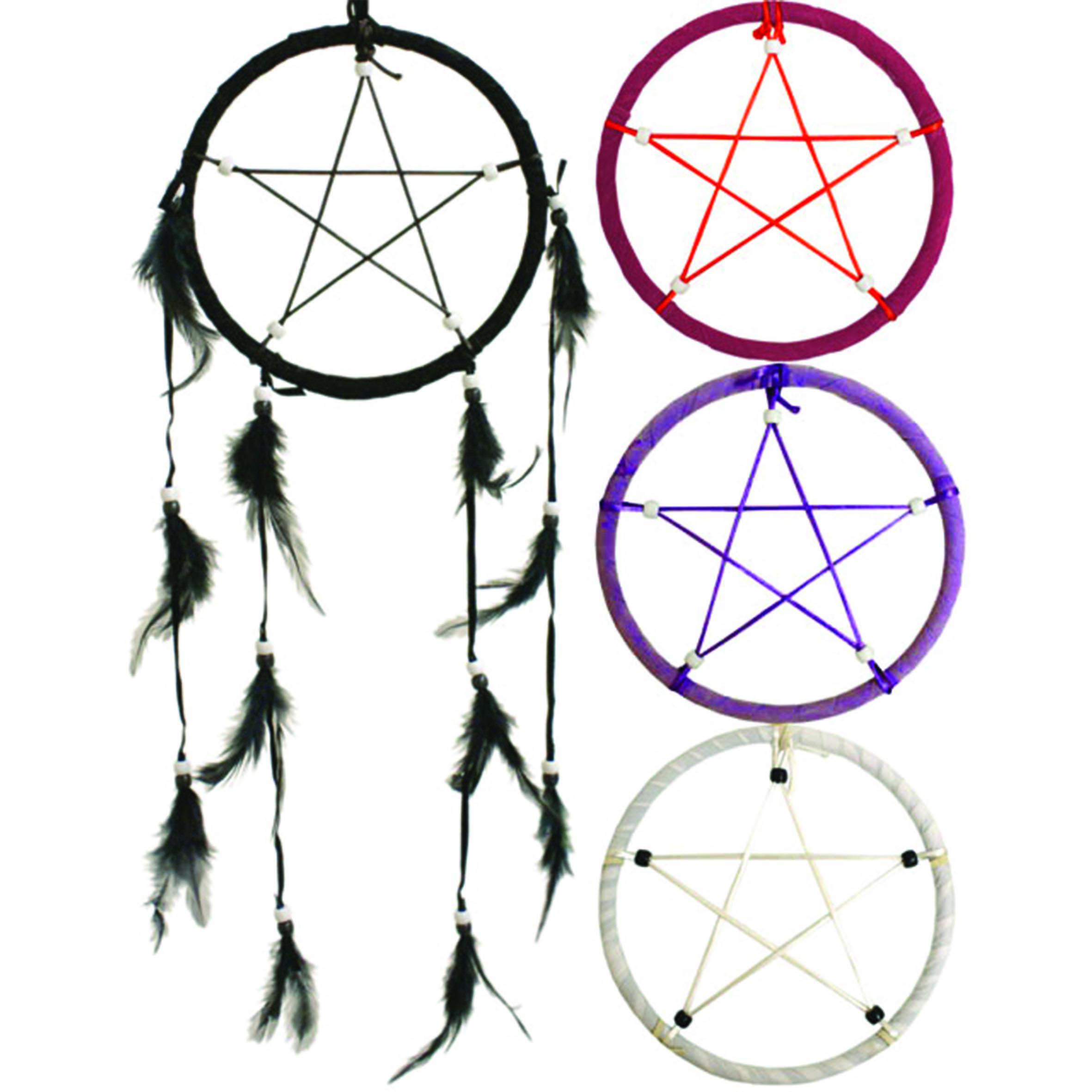 Pentagram Dream Catcher Mysticum Luna