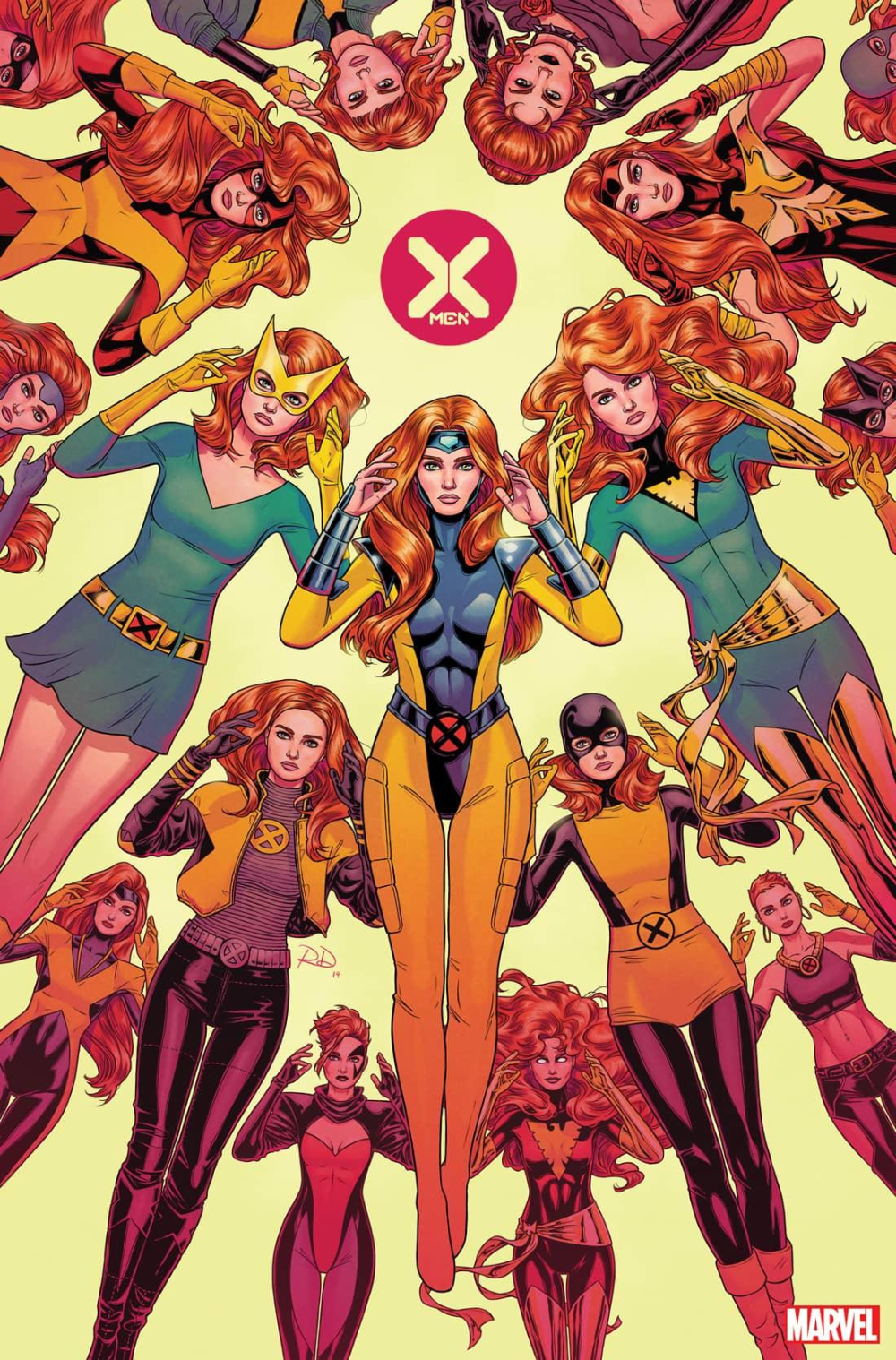 X Men 1 Launch Party Exclusive Variants And Trading Cards In 2020 Marvel Jean Grey Marvel Girls Phoenix Marvel