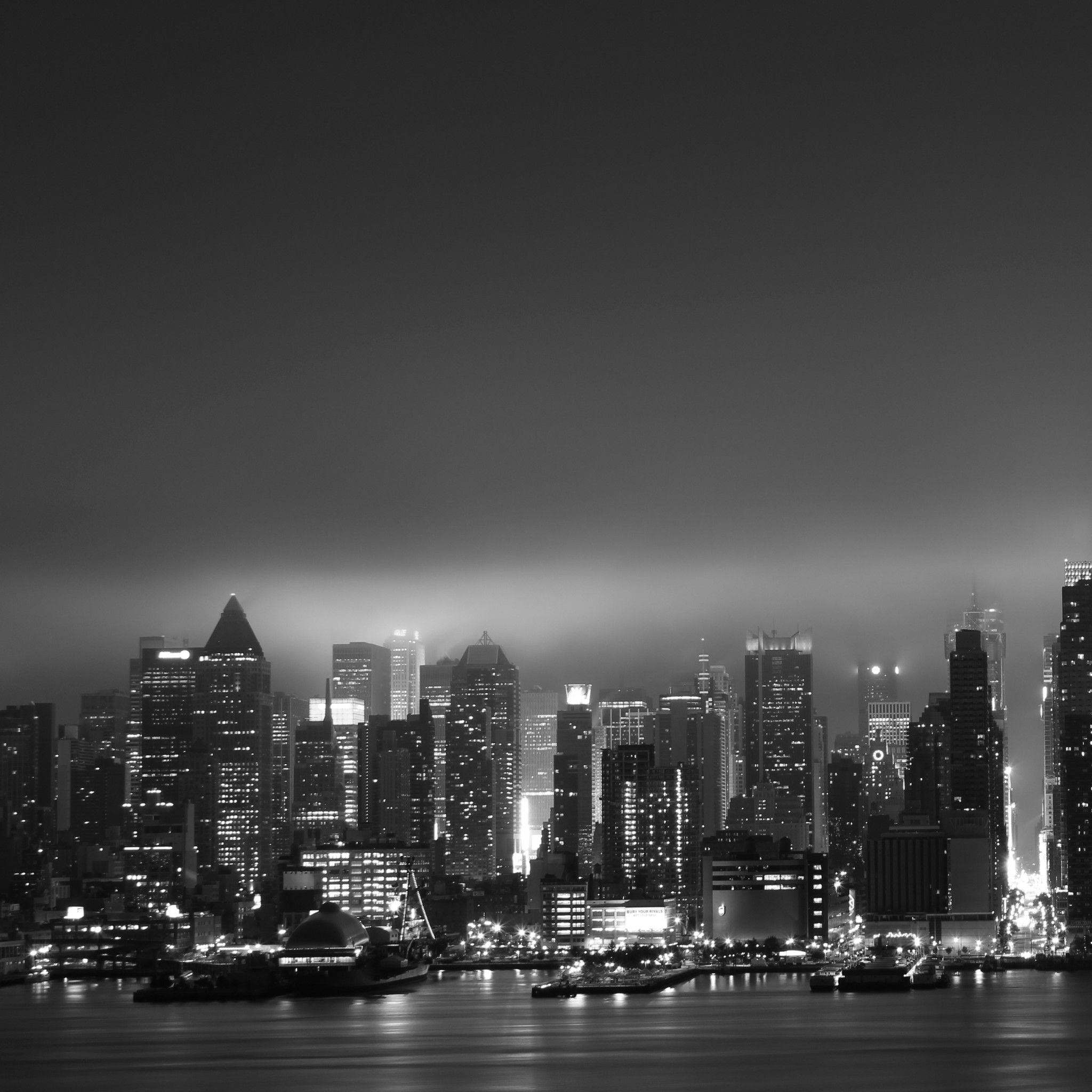 Dark New York Black And White City City Wallpaper City Photography