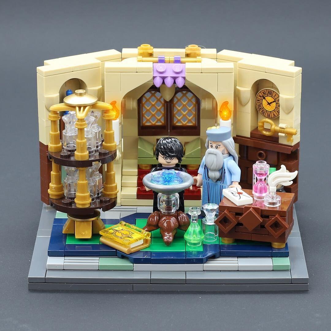 No Photo Description Available Lego Harry Potter Moc Lego Harry Potter Custom Lego Hogwarts