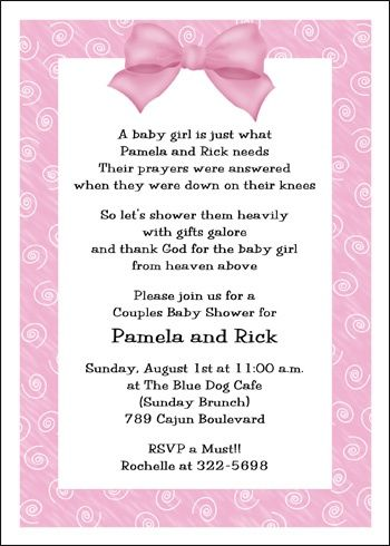 coed baby shower invitations pink girl coed baby shower invitation cards