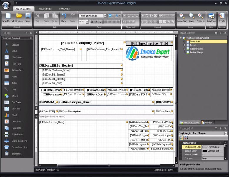 Invoice Expert Dashboard - alternative invoice program  | Business