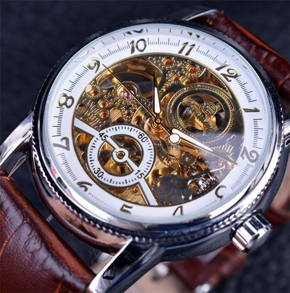 thetieguys charismatic designer skeleton watch for men the tie guys menu0027s watches pinterest skeleton watches skeletons and gears