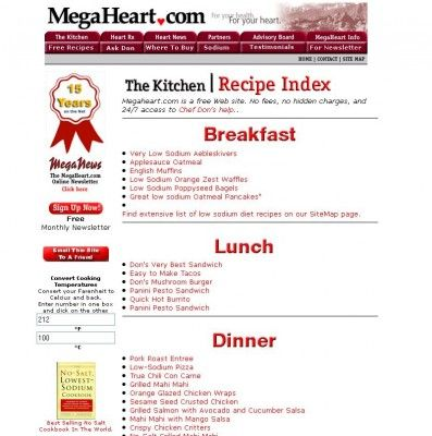98 healthy food ideas for breakfast lunch and dinner 90 healthy low sodium website forumfinder Images