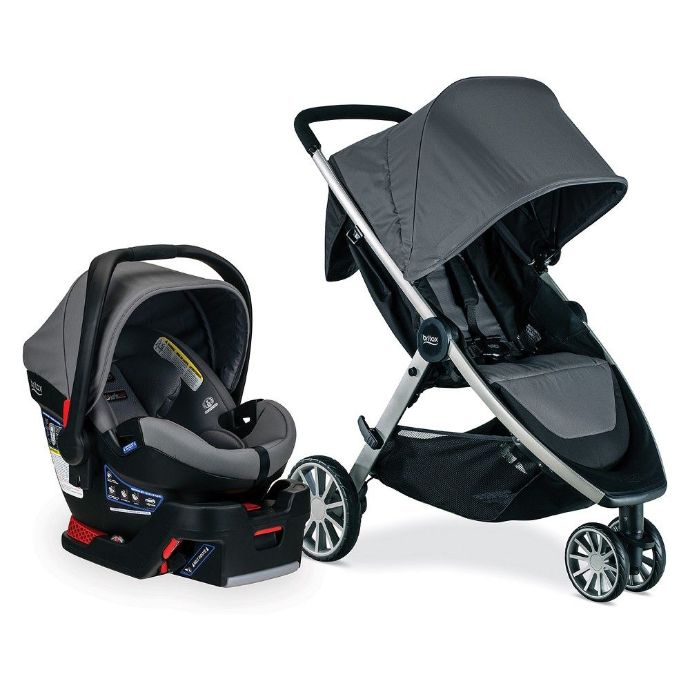 Britax BLively And BSafe Ultra Travel System Gris in