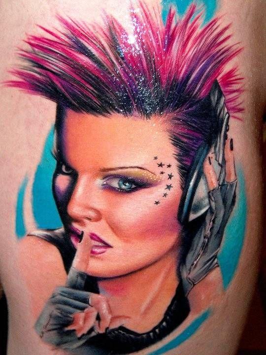 Portrait   InkFREAKZ.com  Artist: Alex DePase