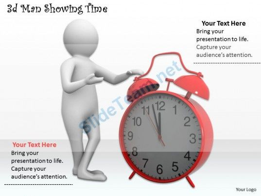 3D Man Showing Time Ppt Graphics Icons Powerpoint #Powerpoint - 3d powerpoint template
