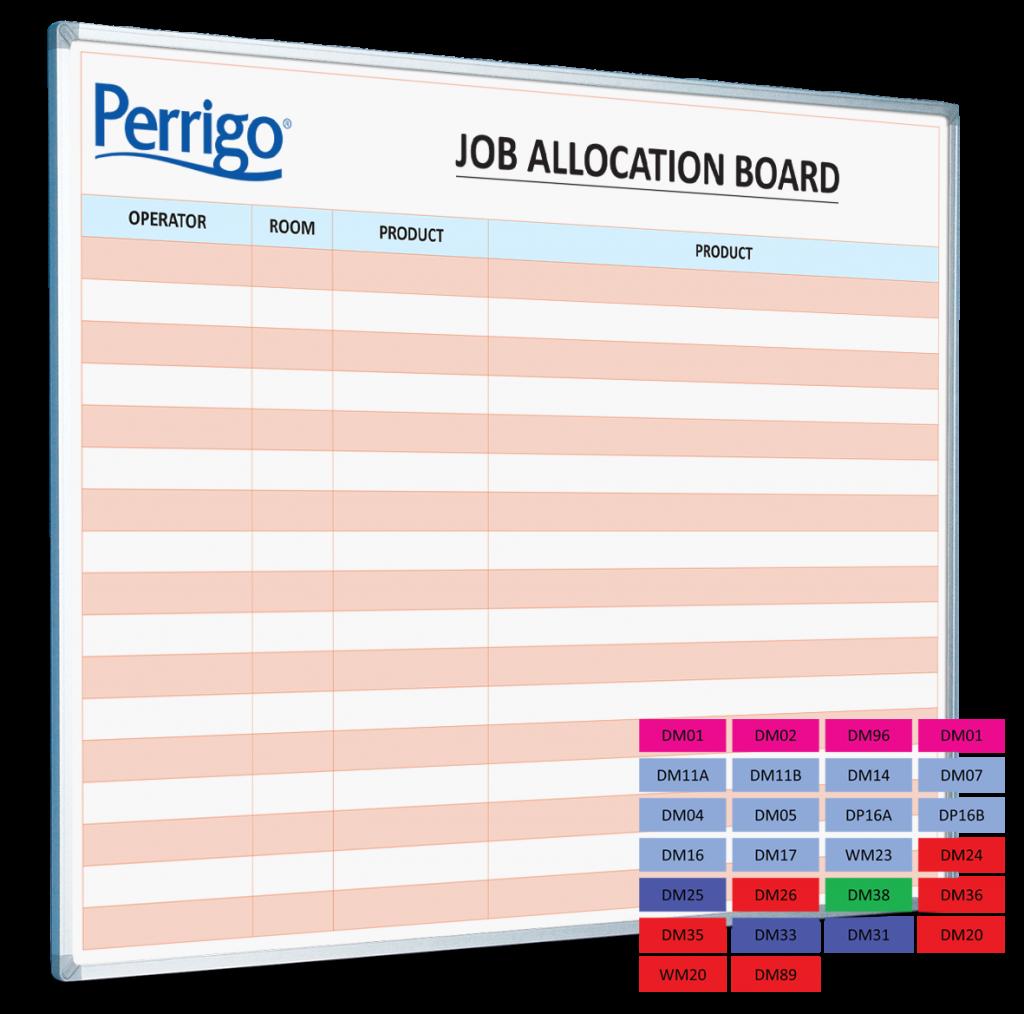 Perrigo Uk Job Allocation Board