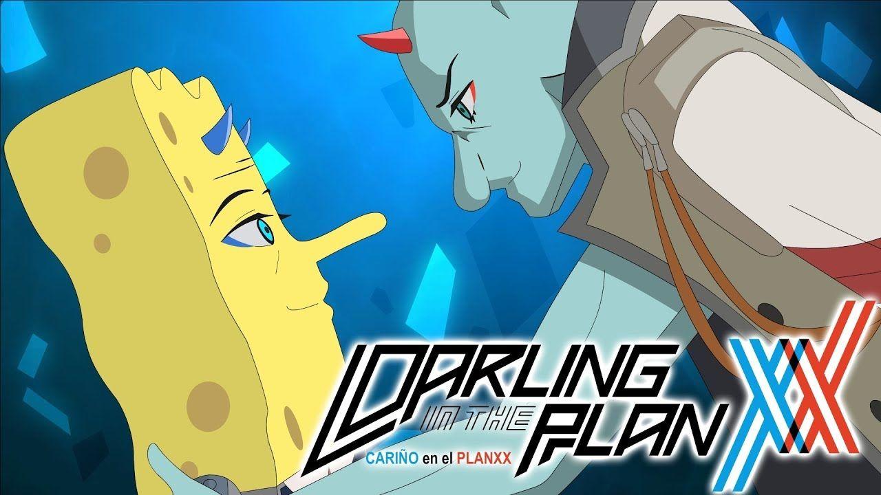 The SpongeBob SquarePants Anime OPENING Darling in the