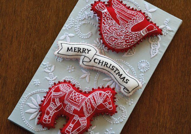 Christmas Ornaments by Yumiko Higuchi