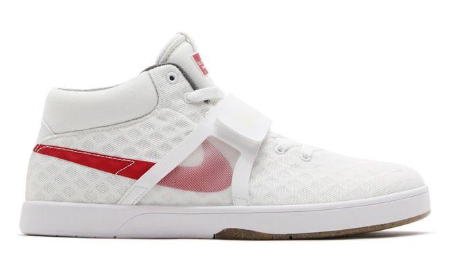 """Nike SB Koston Mid R/R """"White & Gym Red"""""""
