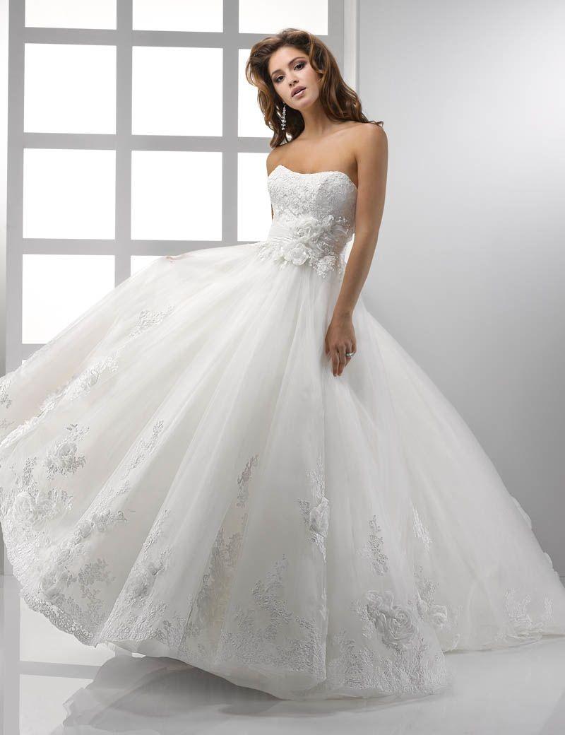 Perfect princess gown wedding dress wedding dresses pinterest