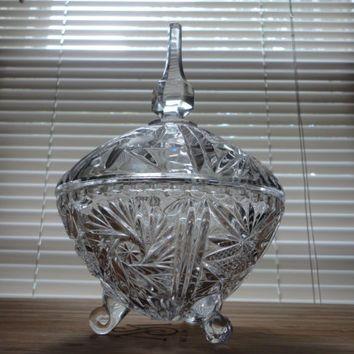 lead crystal Vintage