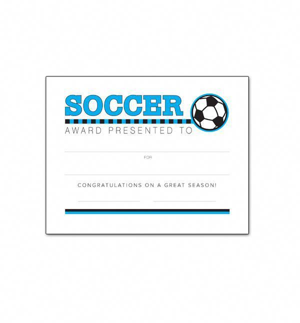 soccer awards certificate youth southworth templates coaching athletic coach soccerprotips